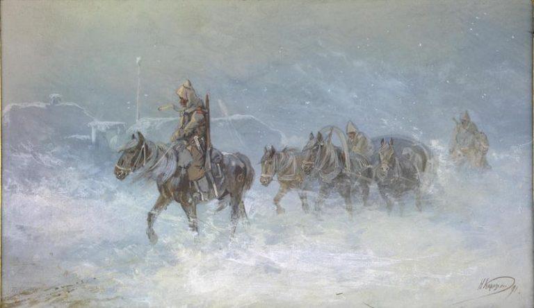 khud. n.karazin. jamskaya i konvoi naya sluzhba v stepi. 1840 1850 e 768x444