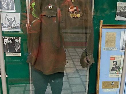 Музей им. И.В. Панфилова в Доме офицеров г. Алматы, Казахстан