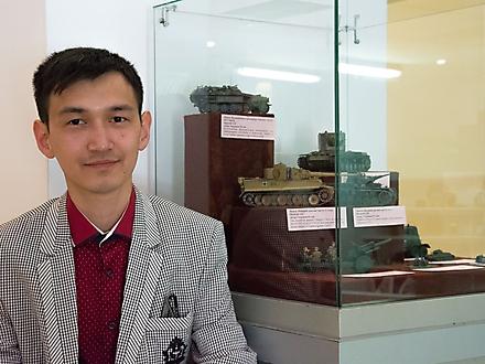Выставка моделей техники военной эпохи, Петропавловск, Казахстан, май 2016 г.